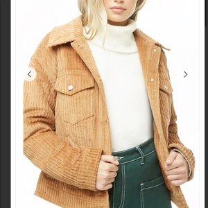 Forever 21 Tan corduroy jacket